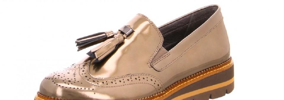 Unsere neuen Gabor Dandy-Schuhe für den Herbst – mit Bommel und Lack